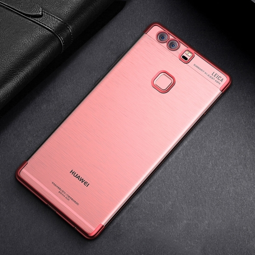 Buy CAFELE For Huawei P9 Plus Color Electroplating TPU Soft Protective Back Cover Case (Rose Gold) for $3.28 in SUNSKY store