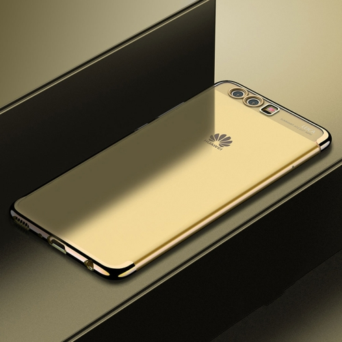 Buy CAFELE For Huawei P10 Color Electroplating TPU Soft Protective Back Cover Case, Gold for $3.44 in SUNSKY store