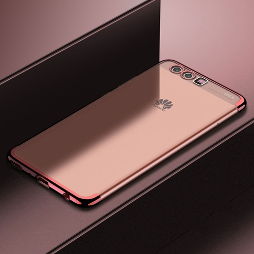 Buy CAFELE For Huawei P10 Color Electroplating TPU Soft Protective Back Cover Case (Rose Gold) for $3.28 in SUNSKY store