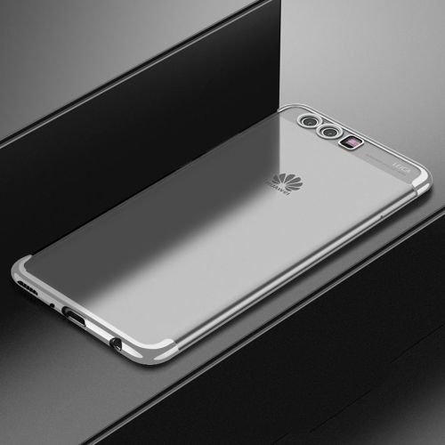 Buy CAFELE For Huawei P10 Plus Color Electroplating TPU Soft Protective Back Cover Case, Silver for $3.28 in SUNSKY store