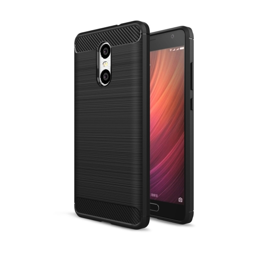 Buy Xiaomi Redmi Pro Brushed Texture Carbon Fiber Shockproof TPU Rugged Armor Protective Case, Black for $2.01 in SUNSKY store