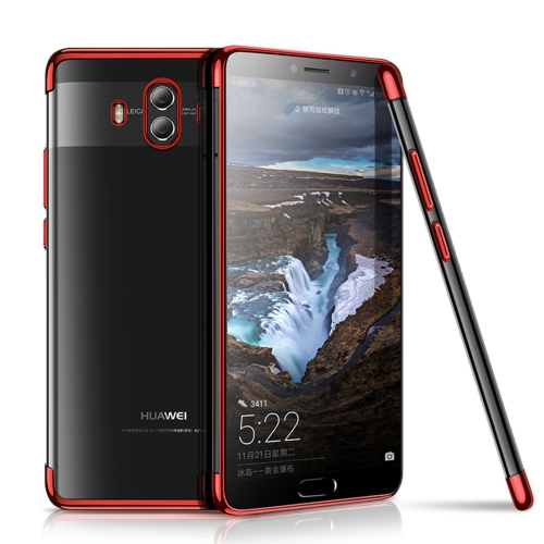 Buy CAFELE Huawei Mate 10 Ultra-thin Electroplating Soft TPU Full Coverage Protective Back Cover Case, Red for $3.44 in SUNSKY store