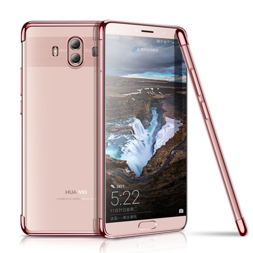 Buy CAFELE Huawei Mate 10 Ultra-thin Electroplating Soft TPU Full Coverage Protective Back Cover Case (Rose Gold) for $3.44 in SUNSKY store
