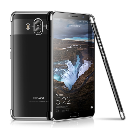 Buy CAFELE Huawei Mate 10 Ultra-thin Electroplating Soft TPU Full Coverage Protective Back Cover Case, Silver for $3.44 in SUNSKY store