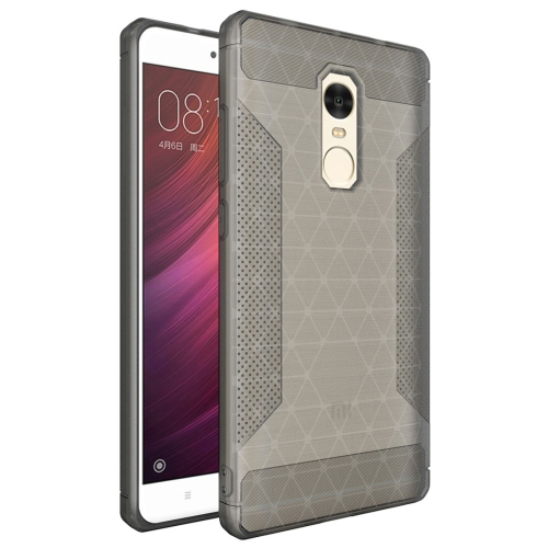 Buy Xiaomi Redmi Note 4 & Redmi Note 4X TPU Frosted Anti-slip Protective Back Cover Case, Grey for $1.83 in SUNSKY store