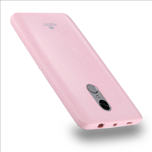 Buy MERCURY GOOSPERY PEARL JELLY Series for Xiaomi Redmi Note 4 / 4X Full Coverage TPU Protective Back Cover Case, Pink for $2.66 in SUNSKY store