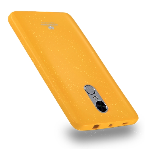 Buy MERCURY GOOSPERY PEARL JELLY Series for Xiaomi Redmi Note 4 / 4X Full Coverage TPU Protective Back Cover Case, Yellow for $2.66 in SUNSKY store