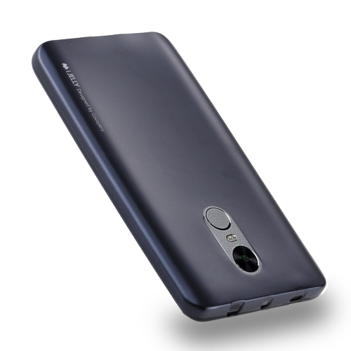 Buy MERCURY GOOSPERY I JELLY METAL Series for Xiaomi Redmi Note 4 Full Coverage TPU Protective Back Cover Case (Navy Blue) for $2.91 in SUNSKY store