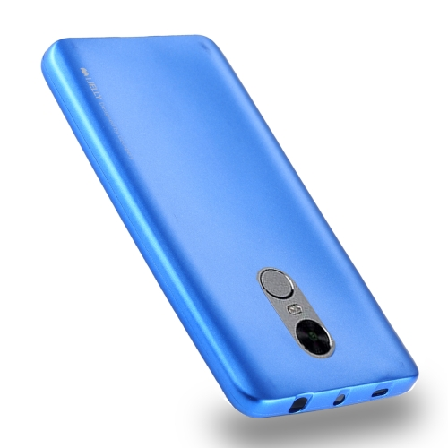 Buy MERCURY GOOSPERY I JELLY METAL Series for Xiaomi Redmi Note 4 Full Coverage TPU Protective Back Cover Case (Baby Blue) for $2.91 in SUNSKY store