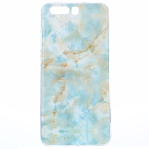 Buy Huawei P10 Emerald Green Marble Pattern IMD Workmanship TPU Protective Back Cover Case for $1.20 in SUNSKY store