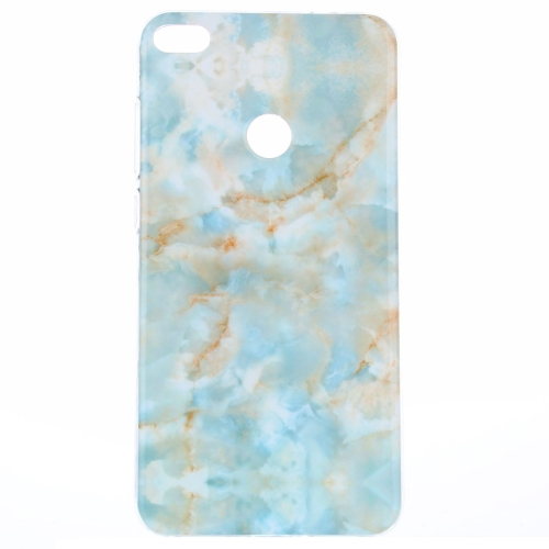 Buy Huawei P8 Lite, 2017 Emerald Green Marble Pattern IMD Workmanship TPU Protective Back Cover Case for $1.20 in SUNSKY store