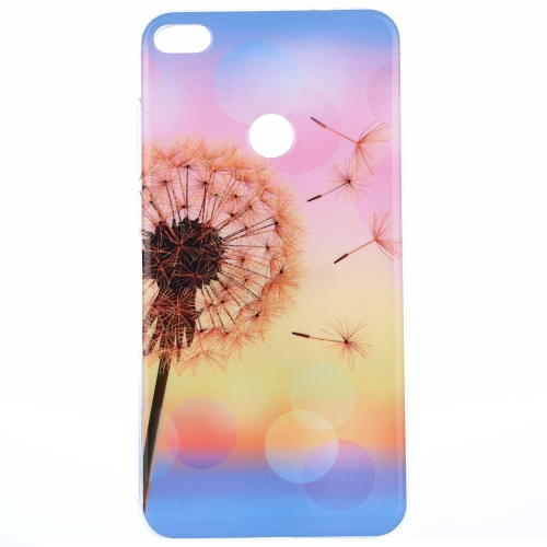 Buy Huawei P8 Lite, 2017 Sunset Dandelion Pattern IMD Workmanship TPU Protective Back Cover Case for $1.20 in SUNSKY store