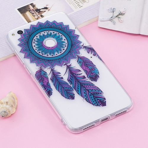 Buy Huawei P8 Lite, 2017 Blue Bells Pattern TPU Protective Case for $1.24 in SUNSKY store