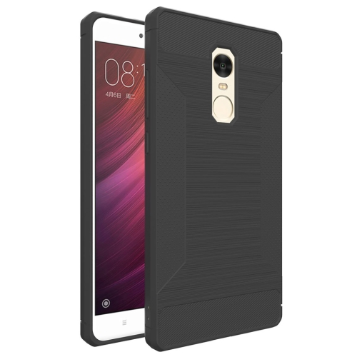 Buy Xiaomi Redmi Note 4X Brushed Texture TPU Anti-slip Soft Protective Case, Grey for $1.83 in SUNSKY store
