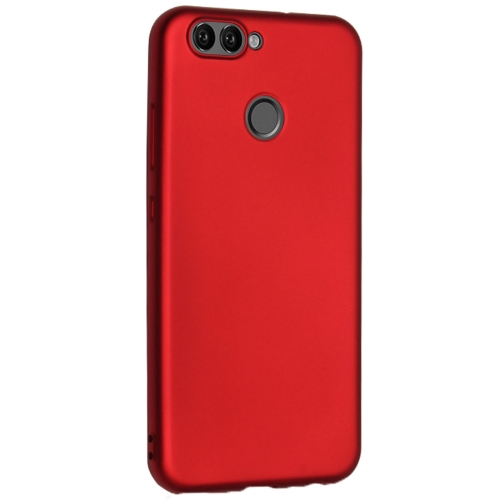 Buy OCUBE for Huawei Nova 2 Plus Metal Paint TPU Protective Back Cover Case, Red for $2.66 in SUNSKY store