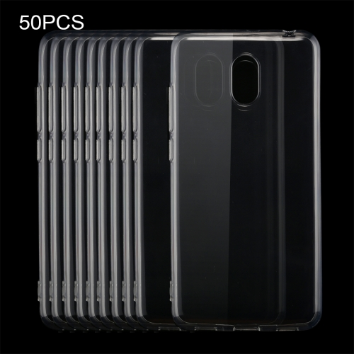 Buy 50 PCS Meizu M6 0.75mm Ultra-thin Transparent TPU Protective Case for $16.36 in SUNSKY store