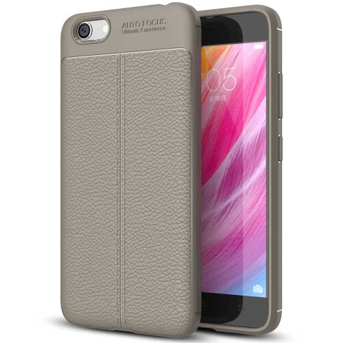 Buy Vivo Y66 Litchi Texture Soft TPU Protective Case, Grey for $2.29 in SUNSKY store