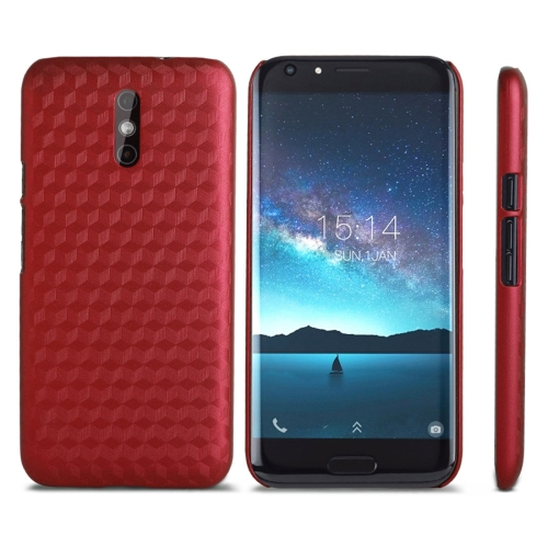 OCUBE DOOGEE BL5000, MPH1928 Metal Paint PC Protective Back Cover Case, Red