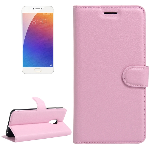 Buy Meizu M3E / Meilan E Litchi Texture Horizontal Flip Leather Case with Holder & Card Slots & Wallet, Pink for $2.31 in SUNSKY store