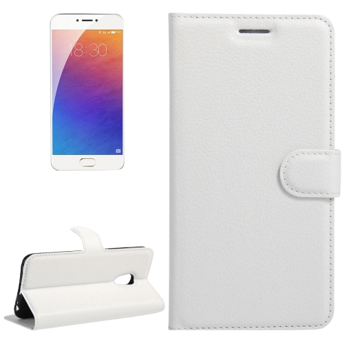 Buy Meizu M3E / Meilan E Litchi Texture Horizontal Flip Leather Case with Holder & Card Slots & Wallet, White for $2.31 in SUNSKY store