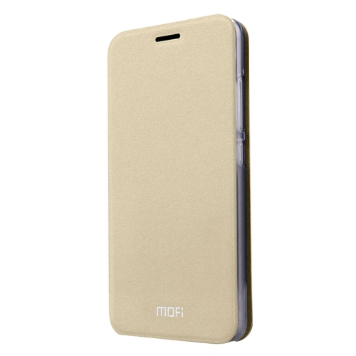Buy MOFI for Lenovo Lemon 3 Crazy Horse Texture Horizontal Flip Leather Case with Holder, Gold for $3.47 in SUNSKY store