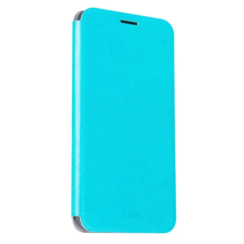 Buy MOFI Letv Le 2 Pro Crazy Horse Texture Horizontal Flip Leather Case with Holder, Blue for $3.47 in SUNSKY store
