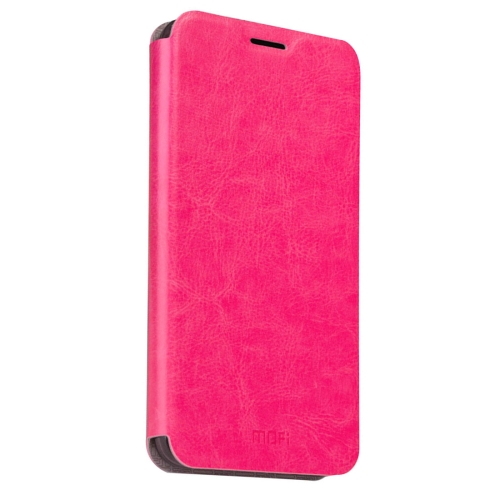 Buy MOFI Letv Le 2 Pro Crazy Horse Texture Horizontal Flip Leather Case with Holder, Magenta for $3.47 in SUNSKY store