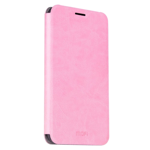 Buy MOFI Letv Le Max 2 Crazy Horse Texture Horizontal Flip Leather Case with Holder, Pink for $3.47 in SUNSKY store