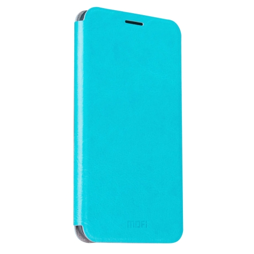Buy MOFI Letv Le Max 2 Crazy Horse Texture Horizontal Flip Leather Case with Holder, Blue for $3.47 in SUNSKY store