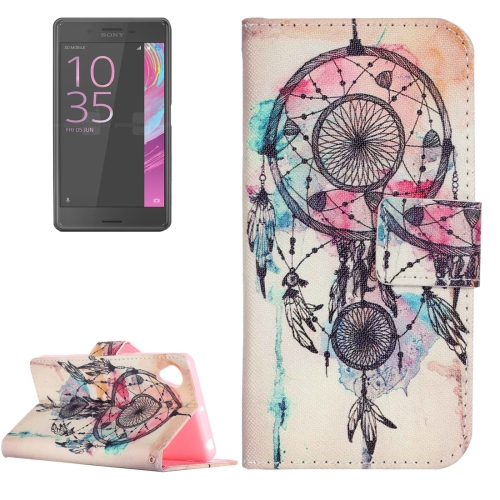 Buy For Sony Xperia XA Painting Dream Catcher Pattern Horizontal Flip Leather Case with Holder & Card Slots for $2.15 in SUNSKY store