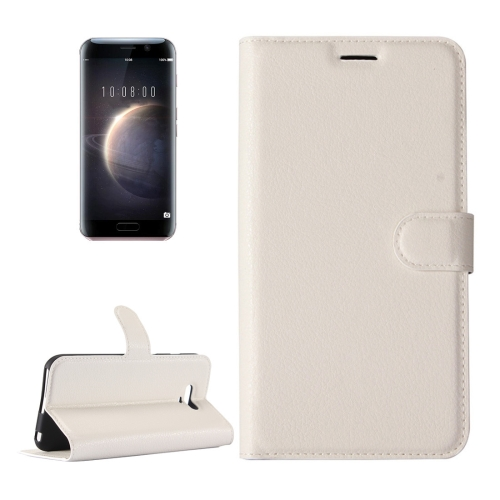Buy Huawei Honor Magic Litchi Texture Horizontal Flip Leather Case with Holder & Card Slots & Wallet, White for $2.28 in SUNSKY store