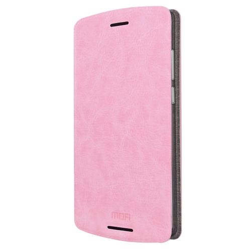 Buy MOFI for Lenovo Lemon X3 Lite Crazy Horse Texture Horizontal Flip Leather Case with Holder, Pink for $3.47 in SUNSKY store