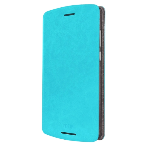 Buy MOFI for Lenovo Lemon X3 Lite Crazy Horse Texture Horizontal Flip Leather Case with Holder, Blue for $3.47 in SUNSKY store