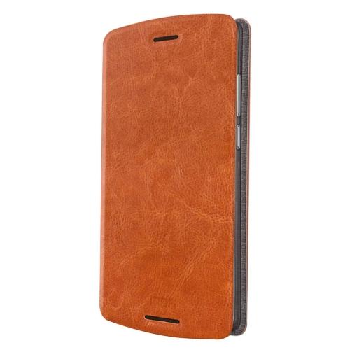 Buy MOFI for Lenovo Lemon X3 Lite Crazy Horse Texture Horizontal Flip Leather Case with Holder, Brown for $3.47 in SUNSKY store