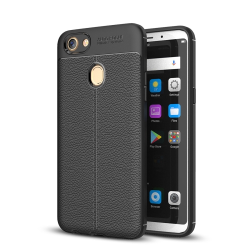 Buy OPPO F5 Litchi Texture TPU Protective Case, Black for $2.29 in SUNSKY store