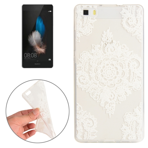 Buy Huawei P8 Flower Pattern TPU Protective Case for $1.00 in SUNSKY store