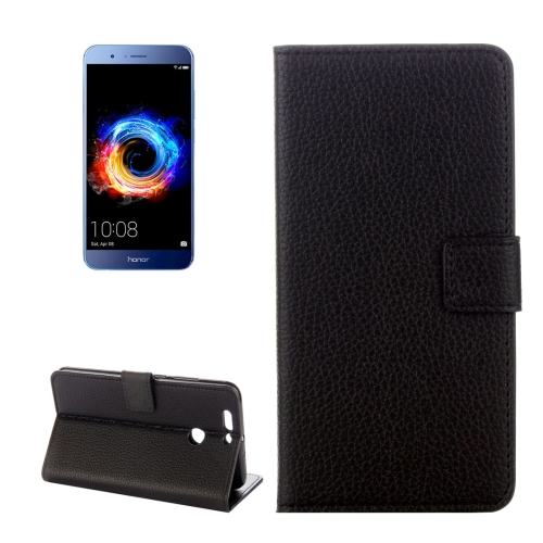 Buy Huawei Honor 8 Pro / Honor V9 Litchi Texture Horizontal Flip Leather Case with Holder & Card Slots & Wallet for $2.30 in SUNSKY store