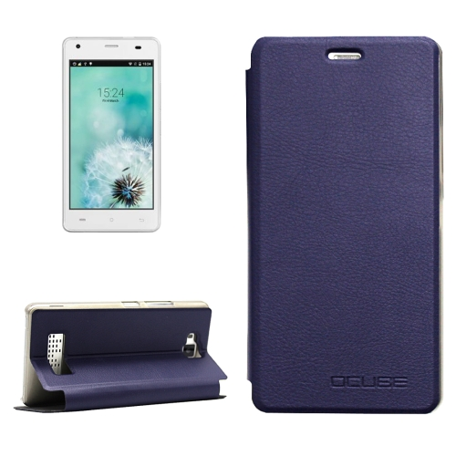 Buy OCUBE CUBOT Echo, MPH1440 Litchi Texture Horizontal Flip Leather Case with Holder (Dark Blue) for $3.72 in SUNSKY store