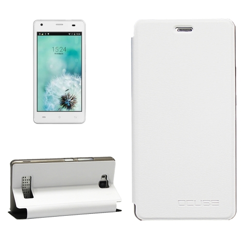 Buy OCUBE CUBOT Echo, MPH1440 Litchi Texture Horizontal Flip Leather Case with Holder, White for $3.72 in SUNSKY store