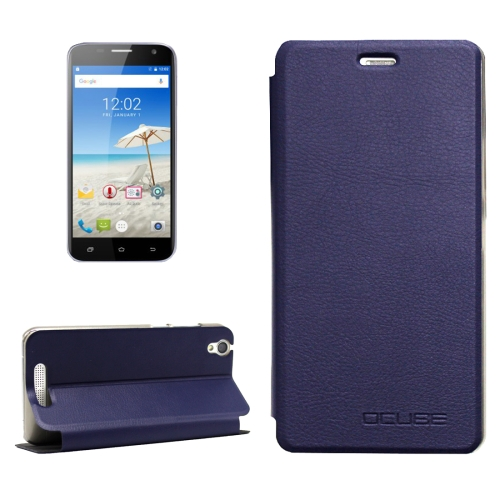 Buy OCUBE CUBOT Manito, MPH1441 Litchi Texture Horizontal Flip Leather Case with Holder (Dark Blue) for $3.72 in SUNSKY store