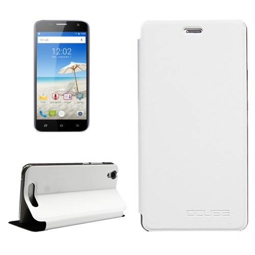 Buy OCUBE CUBOT Manito, MPH1441 Litchi Texture Horizontal Flip Leather Case with Holder, White for $3.72 in SUNSKY store
