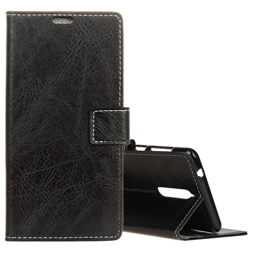 Buy Lenovo K8 Retro Crazy Horse Texture Horizontal Flip Leather Case with Holder & Card Slots & Wallet & Photo Frame, Black for $3.19 in SUNSKY store