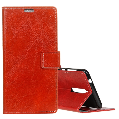 Buy Lenovo K8 Retro Crazy Horse Texture Horizontal Flip Leather Case with Holder & Card Slots & Wallet & Photo Frame, Red for $3.19 in SUNSKY store