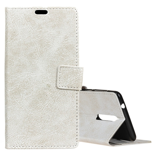 Buy Lenovo K8 Retro Crazy Horse Texture Horizontal Flip Leather Case with Holder & Card Slots & Wallet & Photo Frame, White for $3.19 in SUNSKY store