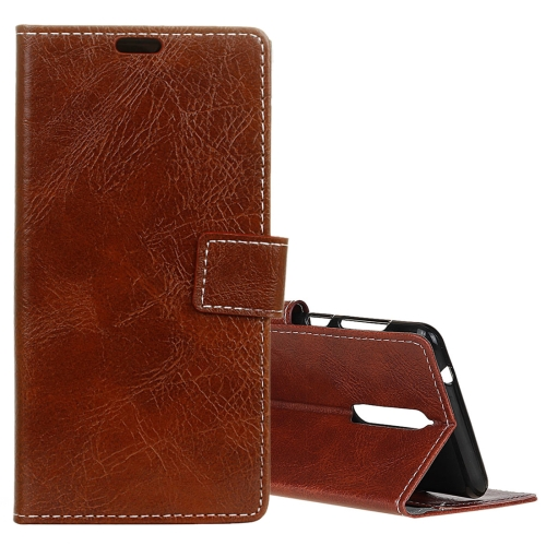 Buy Lenovo K8 Retro Crazy Horse Texture Horizontal Flip Leather Case with Holder & Card Slots & Wallet & Photo Frame, Brown for $3.19 in SUNSKY store