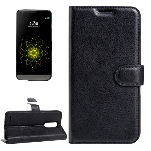 Buy For LG LV5 Litchi Texture Horizontal Flip Leather Case with Magnetic Buckle & Holder & Card Slots & Wallet, Small Quantity Recommended Before LG LV5 Launching, Black for $2.28 in SUNSKY store