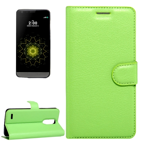 Buy For LG LV5 Litchi Texture Horizontal Flip Leather Case with Magnetic Buckle & Holder & Card Slots & Wallet, Small Quantity Recommended Before LG LV5 Launching, Green for $2.28 in SUNSKY store