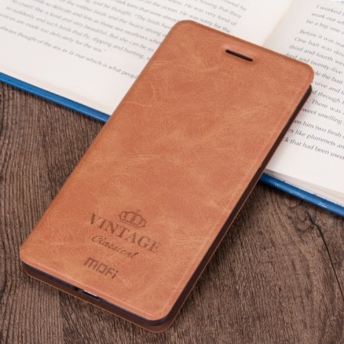 Buy MOFI Xiaomi Redmi 5A Crazy Horse Texture Horizontal Flip Leather Case with Holder & Card Slot, Brown for $4.92 in SUNSKY store