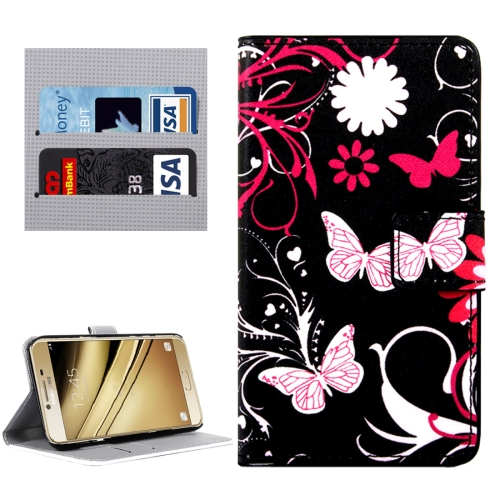 Buy For LG K8 Butterflies Love Flowers Pattern Horizontal Flip Leather Case with Holder & Card Slots & Wallet for $2.33 in SUNSKY store