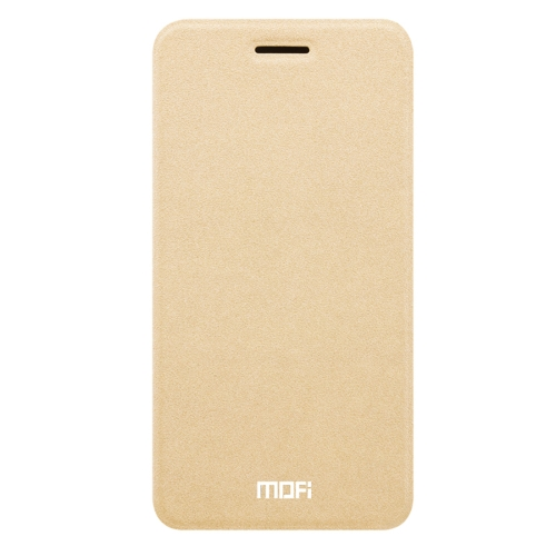 Buy MOFI OPPO R9s Crazy Horse Texture Horizontal Flip Leather Case with Holder, Gold for $3.47 in SUNSKY store